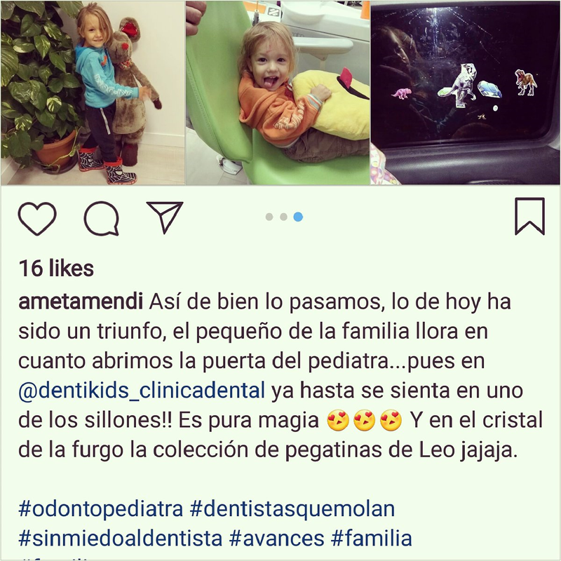 Opinión clínica dental Dentikids pacientes clínica niños infantil